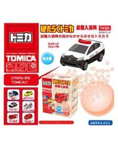 タルガ トミカ はたらくトミカ 炭酸入浴料 (1個) 車 マスコット入り 入浴剤