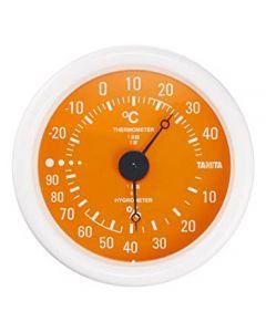 タニタ 温湿度計 オレンジ TT-515-OR (1個) TANITA
