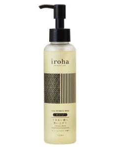 TENGA イロハ INTIMATE WASH moist フレッシュジャスミンの香り (135mL) デリケートゾーン用 洗浄料 iroha