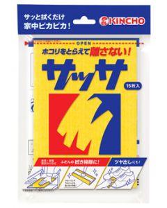 金鳥 キンチョウ サッサ N (15枚) 住宅用お掃除シート KINCHO