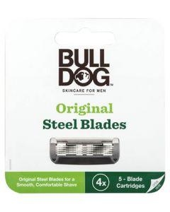 シック ブルドッグ オリジナル替刃 (4個) Bulldog カミソリ替刃 髭剃り