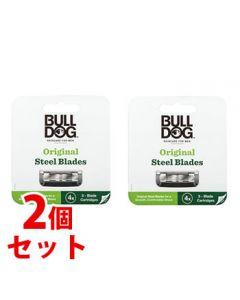 《セット販売》 シック ブルドッグ オリジナル替刃 (4個)×2個セット Bulldog カミソリ替刃