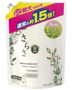P&G さらさ 洗剤ジェル つめかえ用 特大サイズ (1200g) 詰め替え用 液体 洗濯洗剤 【P&G】