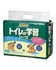 アースペット ジョイペット トイレの学習シーツ レギュラー (48枚) ペット用シーツ JOYPET