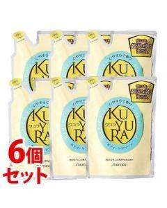 《セット販売》 資生堂 クユラ ボディーケアソープ 心やすらぐ香り つめかえ用 (400mL)×6個セット 詰め替え用 ボディソープ
