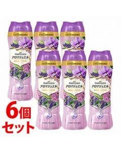 《セット販売》 P&G レノアハピネス アロマジュエル ラベンダーブーケの香り 本体 (520mL)×6個セット 衣料用香りづけ剤 【P&G】