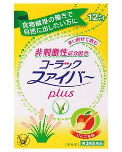 【第3類医薬品】大正製薬 コーラックファイバー plus (1.75g×12包) 便秘薬