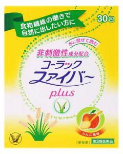 【第3類医薬品】大正製薬 コーラックファイバー plus (1.75g×30包) 便秘薬
