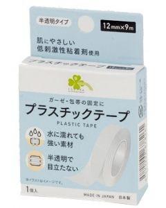 くらしリズム プラスチックテープ 12mm×9m (1個) 半透明