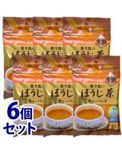 《セット販売》 国太楼 香り高い ほうじ茶 TB (10袋)×6個セット ティーバッグ テトラバッグ ※軽減税率対象商品