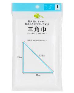 くらしリズム 白十字 三角巾 (1枚) 救急用