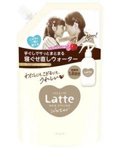 クラシエ マー&ミー Latte ラッテ ウォーター つめかえ用 (450mL) 詰め替え用 寝ぐせ直し スタイリング剤
