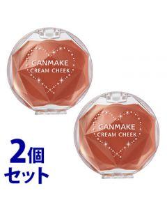 《セット販売》 井田ラボラトリーズ キャンメイク クリームチーク 17 キャラメルラテ (1個)×2個セット チーク CANMAKE
