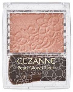 セザンヌ化粧品 セザンヌ パールグロウチーク P3 シナモンオレンジ (2.4g) チーク CEZANNE