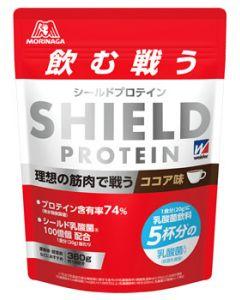 森永製菓 ウイダー シールドプロテイン ココア味 約18回分 (360g) プロテイン 乳酸菌 ※軽減税率対象商品