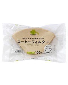 くらしリズム アートナップ コーヒーフィルター 2〜4杯用 (100枚) 日本製