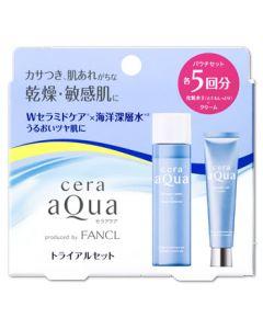 【☆】 セラアクア トライアルセット とてもしっとり 各5回分 (1セット) 化粧水 保湿クリーム