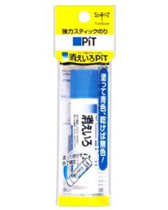 トンボ ピット 消えいろピットS 強力 スティックのり PKPT-TC (約10g) 糊
